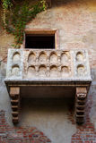 The famous balcony of Juliet's house Stock Image