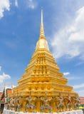 Famous Bangkok Temple. Famous Bangkok in Thailand Temple Royalty Free Stock Photo