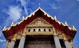 Famous Bangkok temple Royalty Free Stock Photography