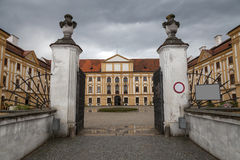 Famous Baroque castle Jaromerice nad Rokytnou, Czech Republic Stock Photography