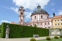 Famous Baroque chateau Jaromerice nad Rokytnou. Czech Republic Royalty Free Stock Photo