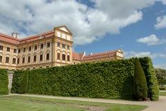 Famous Baroque chateau Jaromerice nad Rokytnou. Czech Republic Royalty Free Stock Photos