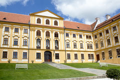 Famous Baroque chateau Jaromerice nad Rokytnou Royalty Free Stock Photography