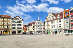 Famous baroque market place Royalty Free Stock Photography