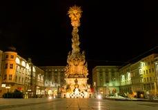 Famous Baroque Trinity Column Royalty Free Stock Photo