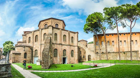Famous Basilica di San Vitale in Ravenna, Italy Royalty Free Stock Photo