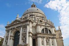 Famous Basilica di Santa Maria della Salute in Venice, Italy. Famous Basilica di Santa Maria della Salute in Venice. Italy Royalty Free Stock Photography