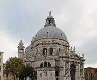 Famous Basilica di Santa Maria della Salute in Venice, Italy. Famous Basilica di Santa Maria della Salute in Venice. Italy Royalty Free Stock Photo