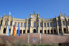 The famous bayerischer landtag Royalty Free Stock Photos