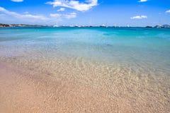 Beautiful beach on Sardegna island, Italy. Famous beach Liscia Ruja on Sardegna island, Italy stock image