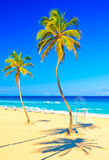 The famous beach of Varadero in Cuba Royalty Free Stock Image