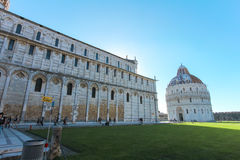 Famous and beautiful Cathedral Duomo di Pisa Italy.JPG Royalty Free Stock Image