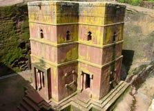 Famous beautiful Ethiopian church Royalty Free Stock Photo