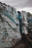 Famous and beautiful glacier structure on lagoon fjallsarlon royalty free stock photos