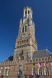 Famous Belfry of Bruges (Belgium) Stock Photos
