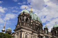 Berliner Dom & Fernsehturm Royalty Free Stock Image
