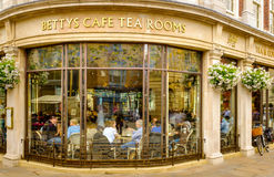 The famous Betty's Tea Rooms, York. Royalty Free Stock Images