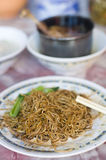 Famous bidor wanton duck leg. Noodle,perak,malaysia royalty free stock photography
