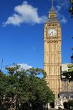 Famous Big Ben clock tower in London, UK. Stock Images