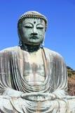 Famous big bronze Buddha in Kamakura, Honshu, Japan Royalty Free Stock Images