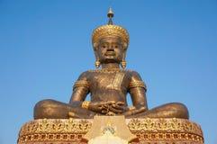 The famous Big Buddha statue at phetchabun province Stock Images