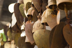 Famous Big Buddha wish bells, Phuket Royalty Free Stock Photo