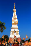 The famous big  Pagoda of Thailand. The famous  big  Pagoda of Thailand on blue sky background Stock Photography