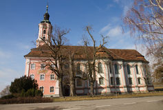 Famous Birnau pilgrimage church in Germany. Stock Images