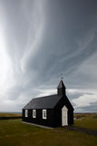 Famous Black Church Budir Royalty Free Stock Photo