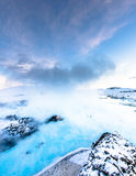The famous blue lagoon near Reykjavik, Iceland Stock Photography