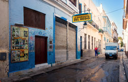 The famous Bodeguita del Medio in Havana Stock Photo