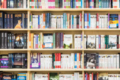 Famous Books For Sale On Library Shelf Royalty Free Stock Photo
