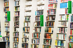 Famous Books For Sale On Library Shelf Royalty Free Stock Image
