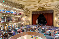 The famous bookshop El Ateneo Grand Splendid Buenos Aires Aregtina Royalty Free Stock Photos