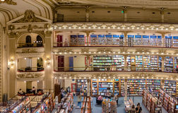 The famous bookshop El Ateneo Grand Splendid Buenos Aires Aregtina Stock Photo