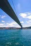 Famous Bosphorus Bridge Royalty Free Stock Photography