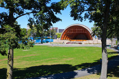 Famous Boston Hatch Shell. Stock Images