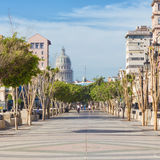 The famous boulevard of El Prado in Havana Stock Photos