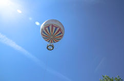 Famous Bournemouth Balloon under a blue summer sky Royalty Free Stock Photos
