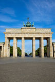 The famous Brandenburger Tor in Berlin Royalty Free Stock Photos