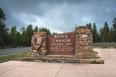 The famous Brice canyon national park in Utah Royalty Free Stock Photos