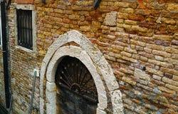Famous brick wall of venezia Royalty Free Stock Images