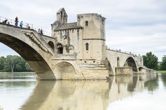 Famous bridge in Avignon, France Royalty Free Stock Photo
