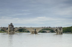 Famous bridge in Avignon, France Royalty Free Stock Photography