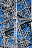 Famous bridge in Dresden. Detail of the famous bridge Blaues Wunder, Landmark in Dresden, Germany Royalty Free Stock Image