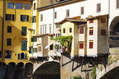 Famous bridge in Florence Royalty Free Stock Images