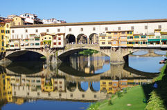 Famous bridge in Florence Stock Images