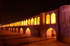 FAMOUS BRIDGE OF IRAN stock photos