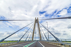 Famous bridge in kampen Stock Photos
