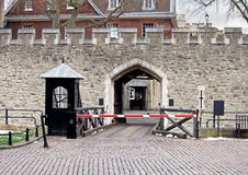 Tower of London entrance Royalty Free Stock Photos
